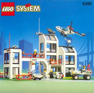 Lego City Police Station Instructions 60141